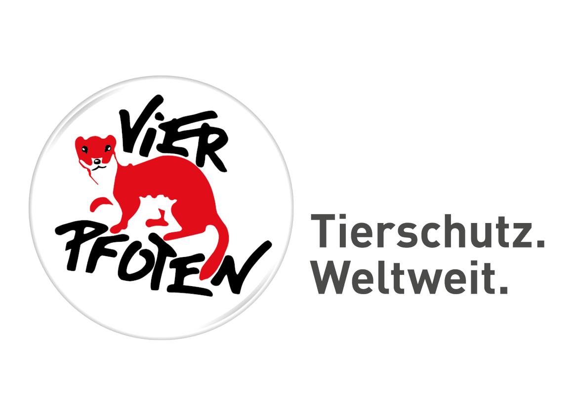 Logo von Vier Pfoten Schweiz
